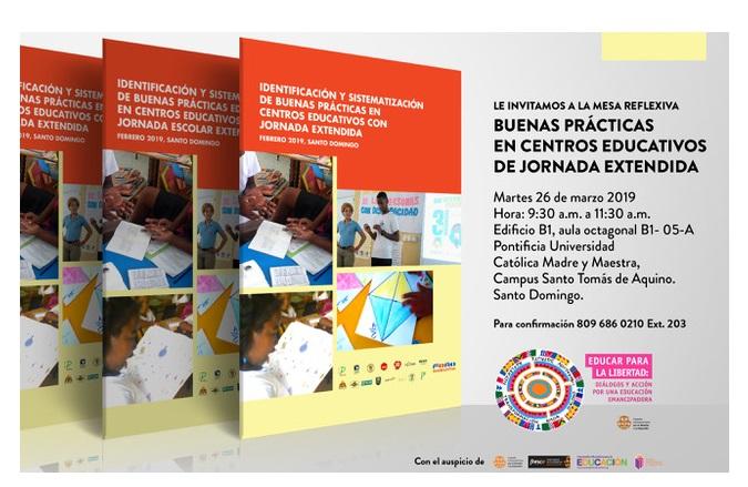 Foro en República Dominicana organiza mesa de diálogos sobre buenas prácticas en centros educativos de jornada ampliada