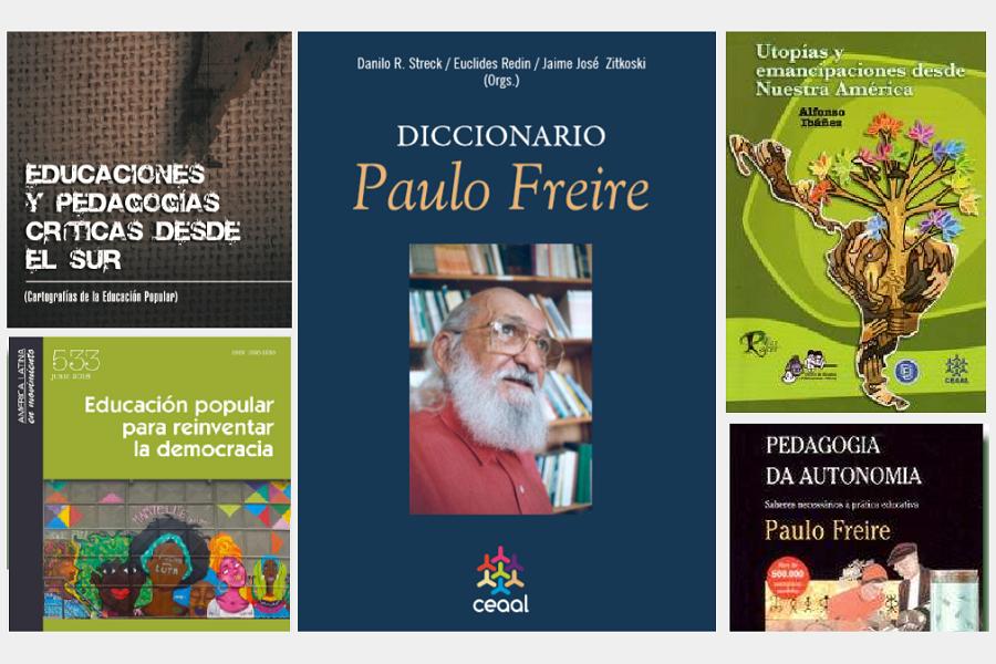 OSCAR JARA RECOMIENDA 8 PUBLICACIONES SOBRE EDUCACIÓN EMANCIPADORA